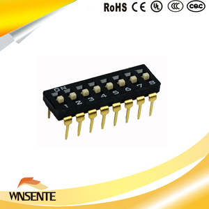 8-digit patch type Dip Switch