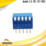 5-digit side dial type Dip Switch