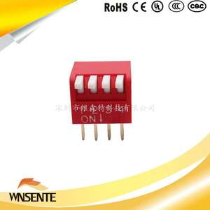 4-digit side dial type Dip Switch