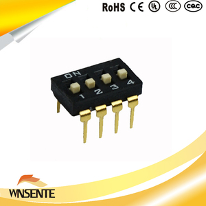 4-digit patch type Dip Switch