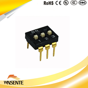 3-digit patch type Dip Switch