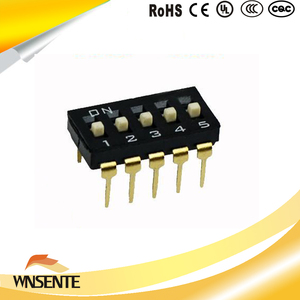 5-digit patch type Dip Switch