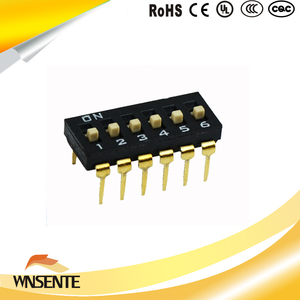 6-digit patch type Dip Switch