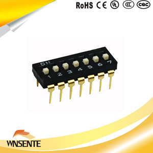 7-digit patch type Dip Switch