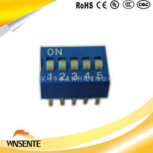 5-digit flat type Dip Switch