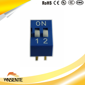2-digit flat type Dip Switch