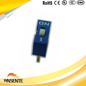 1-digit flat type Dip Switch