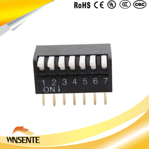 7-digit side dial type Dip Switch